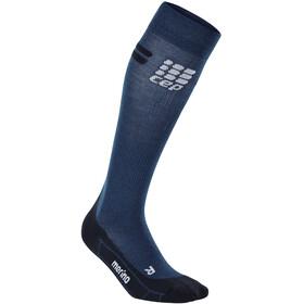 cep Run Merino Running Socks Women blue/black